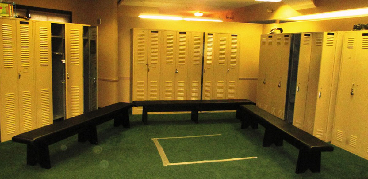 HPL-Locker and Benches